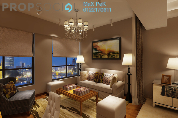 For Sale Condominium at Rica Residence, Sentul Freehold Unfurnished 2R/2B 587k