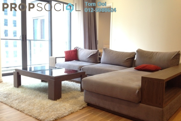 For Rent Condominium at St Mary Residences, KLCC Freehold Fully Furnished 1R/1B 4.8k