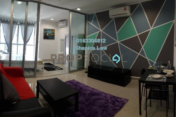 For Rent Condominium at 3 Elements, Bandar Putra Permai Freehold Fully Furnished 1R/1B 1.2k