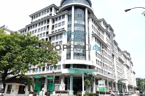 For Rent Office at Kelana Square, Kelana Jaya Freehold Unfurnished 0R/1B 1.2k