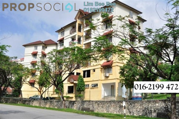 For Sale Apartment at Merak Apartment, Bandar Kinrara Freehold Semi Furnished 3R/2B 360k