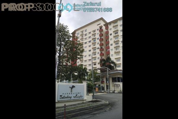 For Sale Condominium at Belimbing Heights, Seri Kembangan Freehold Semi Furnished 3R/2B 350k