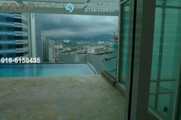 For Rent Serviced Residence at Binjai Residency, KLCC Freehold Semi Furnished 6R/7B 25k