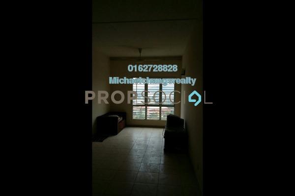 For Sale Apartment at Baiduri Courts, Bandar Bukit Puchong Freehold Semi Furnished 3R/2B 240k