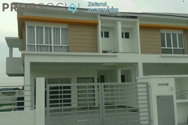 For Sale Terrace at Desa Sebarau, Batang Kali Freehold Unfurnished 4R/4B 390k