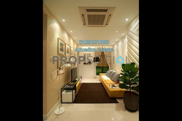 For Sale Serviced Residence at H2O Residences, Ara Damansara Freehold Semi Furnished 3R/2B 581k
