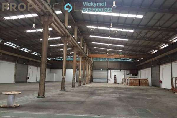 For Rent Factory at Cheras Jaya Industrial Park, Balakong Freehold Semi Furnished 0R/6B 45k