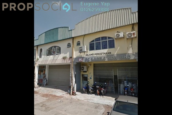 For Sale Factory at Aman Puri, Kepong Freehold Unfurnished 0R/0B 1.78m