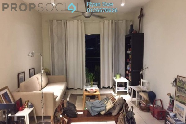 For Sale Condominium at Changkat View, Dutamas Freehold Semi Furnished 3R/2B 570k