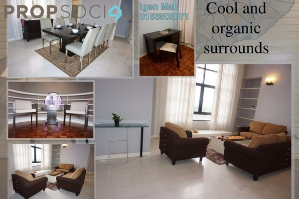 For Rent Condominium at Lanson Place, Bukit Ceylon Freehold Fully Furnished 3R/3B 5k