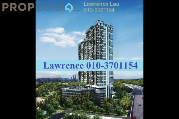 For Sale Serviced Residence at D'Sands Residence, Old Klang Road Leasehold Semi Furnished 2R/1B 490k