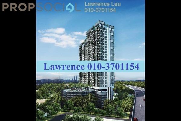 For Sale Serviced Residence at D'Sands Residence, Old Klang Road Leasehold Semi Furnished 3R/2B 670k