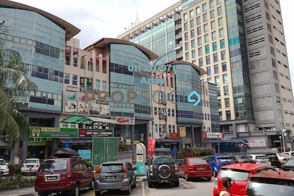 For Rent Office at Subang Square, Subang Jaya Freehold Unfurnished 0R/1B 2k