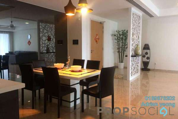 For Rent Condominium at 28 Mont Kiara, Mont Kiara Freehold Semi Furnished 3R/5B 8k