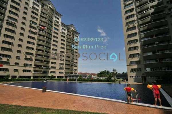 For Rent Condominium at Sentul Utama Condominium, Sentul Freehold Semi Furnished 3R/2B 1.2k