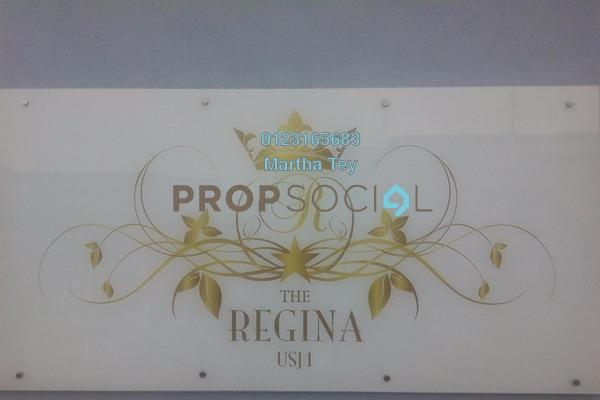 For Sale Serviced Residence at The Regina, UEP Subang Jaya Freehold Semi Furnished 3R/3B 600k