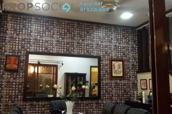 For Sale Superlink at Section U8, Bukit Jelutong Freehold Semi Furnished 4R/4B 990k
