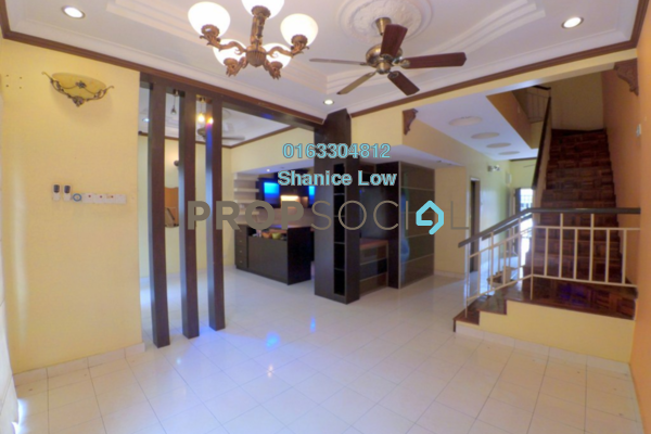 For Sale Terrace at Taman Tasik Prima, Puchong Freehold Semi Furnished 4R/3B 595k