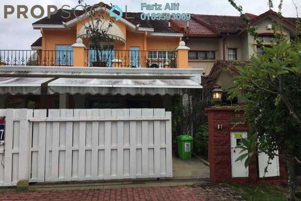 For Sale Superlink at Section U8, Bukit Jelutong Freehold Semi Furnished 5R/5B 1.55m