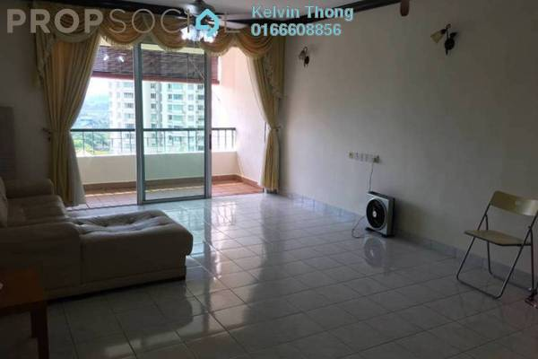 For Rent Condominium at Riana Green, Tropicana Freehold Semi Furnished 3R/2B 1.7k