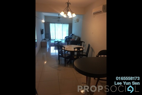 For Rent Condominium at Kinta Riverfront, Ipoh Freehold Fully Furnished 3R/0B 1.5k