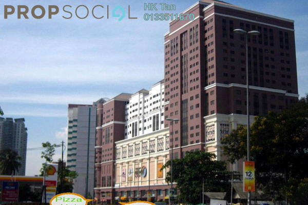 For Rent Office at Mutiara Complex, Sentul Freehold Semi Furnished 0R/1B 1.5k