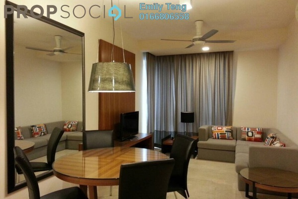 For Rent Condominium at myHabitat, KLCC Freehold Fully Furnished 2R/1B 3.7k