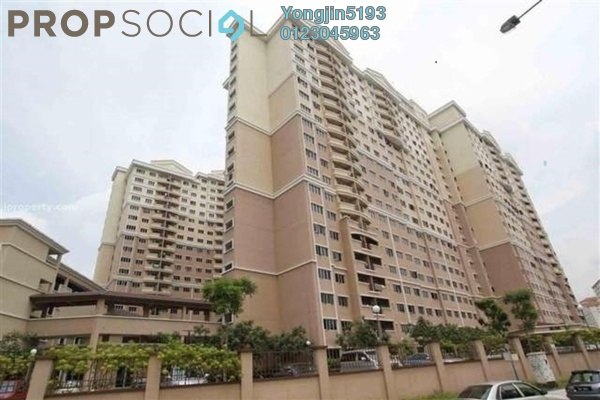 For Rent Condominium at Cengal Condominium, Bandar Sri Permaisuri Freehold Unfurnished 3R/2B 1.3k