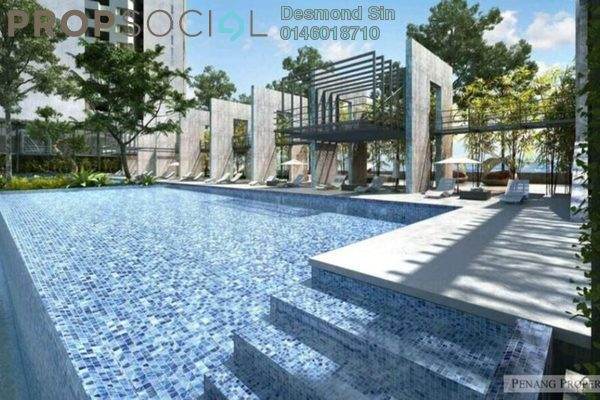 For Sale Condominium at Lavinia Apartment, Sungai Nibong Freehold Unfurnished 3R/2B 649k