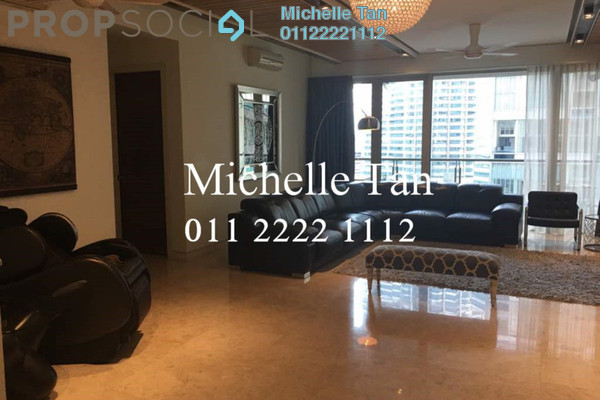 For Sale Condominium at Marc Service Residence, KLCC Freehold Fully Furnished 4R/6B 4.8m
