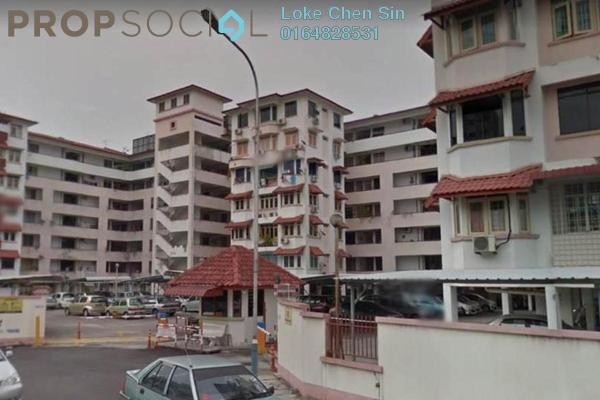 For Rent Apartment at Medan Hikmat, Jelutong Freehold Fully Furnished 3R/2B 1.5k