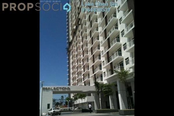 For Rent Condominium at Reflections, Sungai Ara Freehold Fully Furnished 4R/3B 2.5k