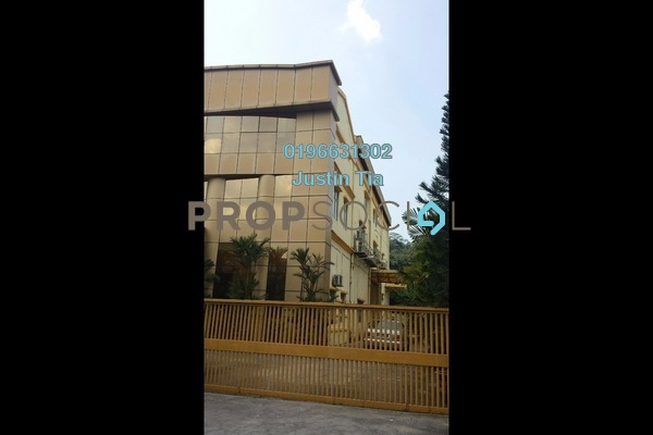 For Rent Factory at Taman Perindustrian KIP, Kepong Freehold Fully Furnished 0R/0B 40k