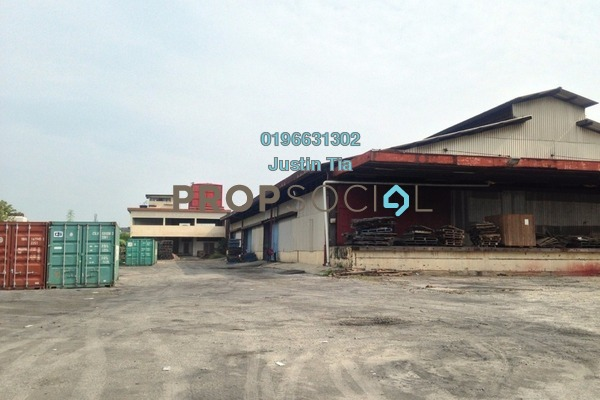 For Rent Factory at Perdana Industrial Park, Port Klang Freehold Semi Furnished 0R/0B 25k