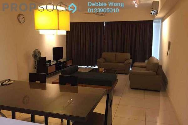 For Sale Condominium at Tiffani Kiara, Mont Kiara Freehold Fully Furnished 2R/2B 1.35m