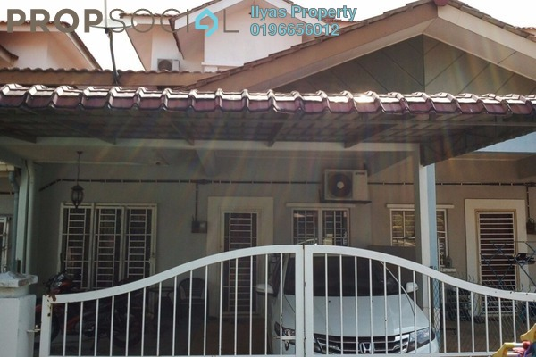 For Sale Terrace at Seksyen 5, Kota Puteri Freehold Semi Furnished 3R/2B 350k