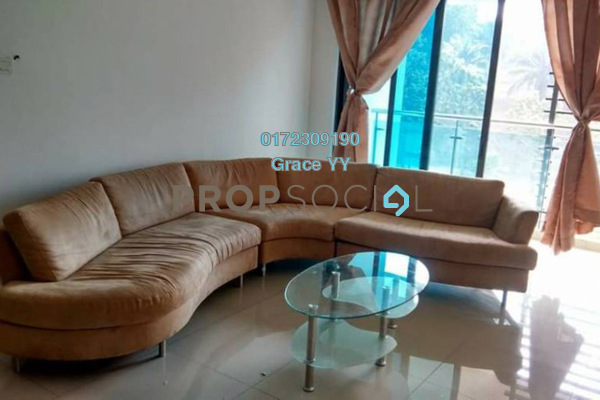 For Rent Condominium at Gardenview Residence, Cyberjaya Freehold Fully Furnished 3R/2B 2.3k