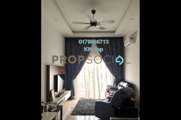 For Rent Condominium at Anggun Puri, Dutamas Freehold Semi Furnished 3R/2B 1.5k