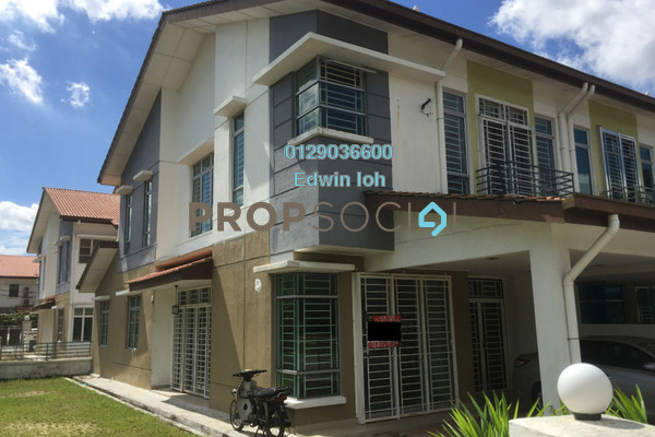 For Sale Link at Taman Cheras Idaman, Bandar Sungai Long Leasehold Unfurnished 4R/3B 1.3m