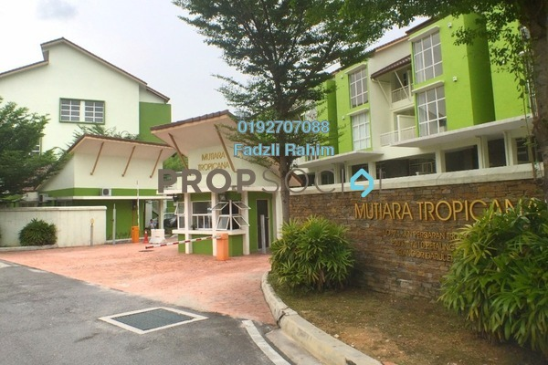 For Sale Townhouse at Mutiara Tropicana, Tropicana Leasehold Unfurnished 4R/4B 970k