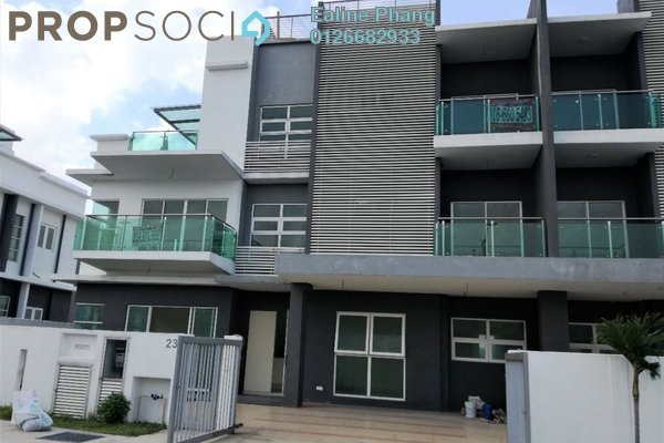 For Sale Semi-Detached at Taman Segar, Cheras Freehold Unfurnished 6R/6B 2.3m