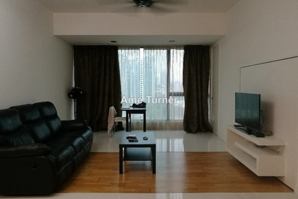 For Sale Condominium at Gateway Kiaramas, Mont Kiara Freehold Fully Furnished 1R/1B 620k