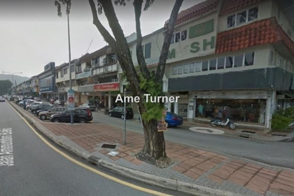 For Rent Shop at Aminuddin Baki, TTDI Freehold Unfurnished 0R/0B 11k