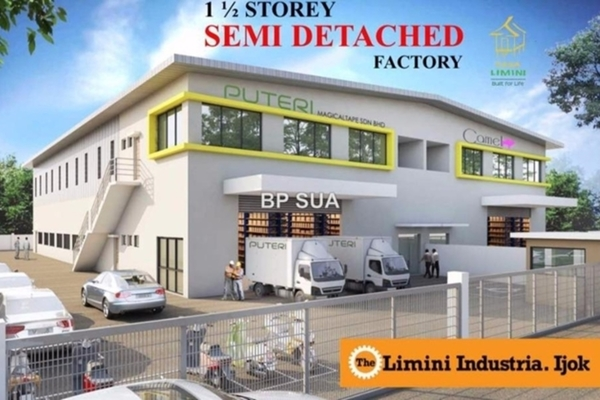 For Sale Factory at The Limini Industria, Kuala Selangor  Unfurnished 0R/0B 2.8m