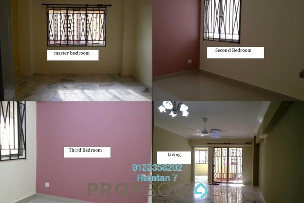For Rent Condominium at Winner Heights, Desa Petaling Freehold Unfurnished 3R/2B 1.15k