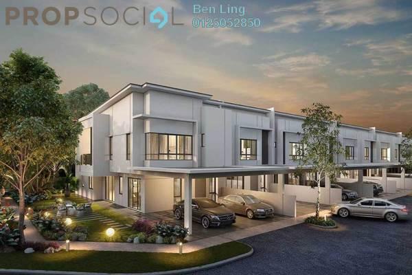 For Sale Terrace at Suriaman 2B, Bandar Sri Sendayan Freehold Unfurnished 4R/4B 609k