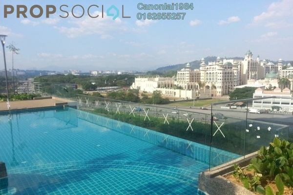For Rent Condominium at Gardenz @ One South, Seri Kembangan Freehold Semi Furnished 3R/2B 1.8k