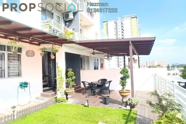For Sale Condominium at Pearl Avenue, Kajang Freehold Semi Furnished 3R/2B 650k