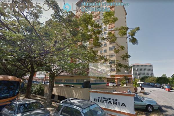 For Rent Condominium at Residensi Bistaria, Ukay Freehold Semi Furnished 3R/2B 1.3k