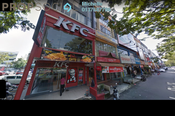 For Sale Shop at Taman Sri Muda, Shah Alam Freehold Fully Furnished 4R/4B 3.55m
